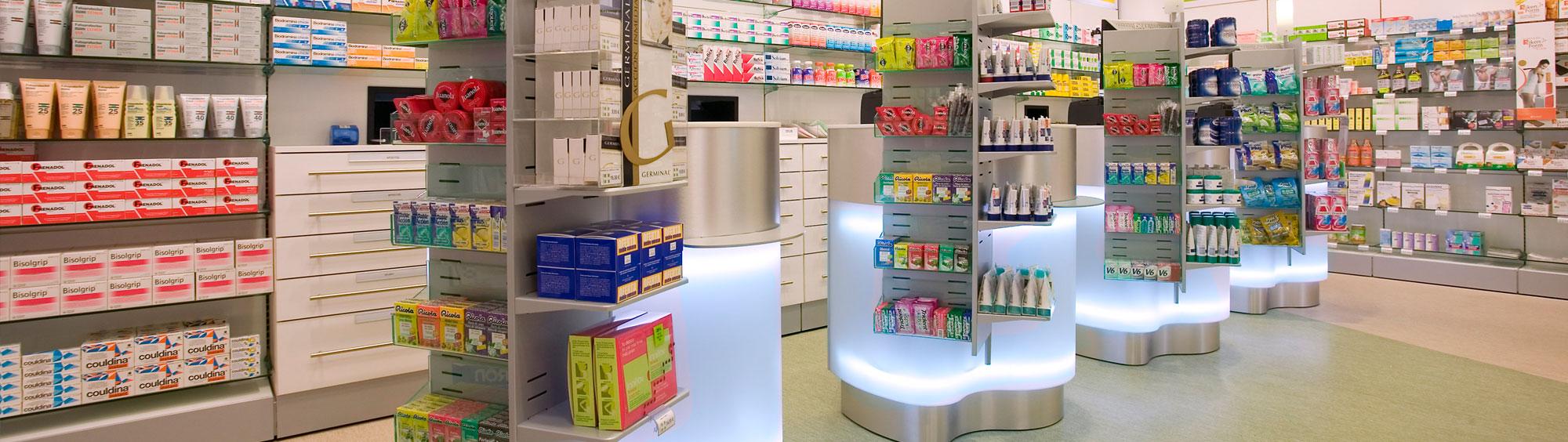 Traspado de farmacia interior